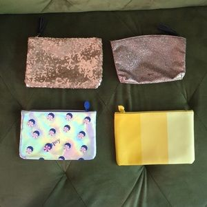 Bundle of Four Ipsy Bags